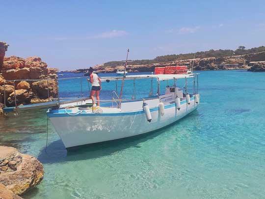 Boat trips San Antonio Ibiza
